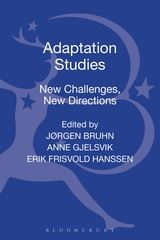 Adaptaion Studies. New challenges, new directions. Book Cover.
