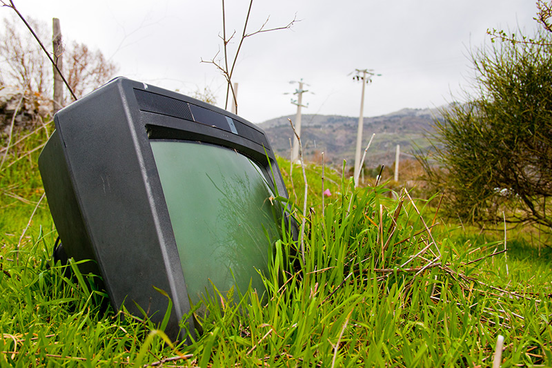 Old TV set. Photo by KJB / Shutterstock
