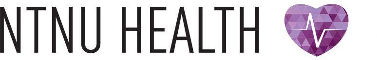 Web banner NTNU Health.