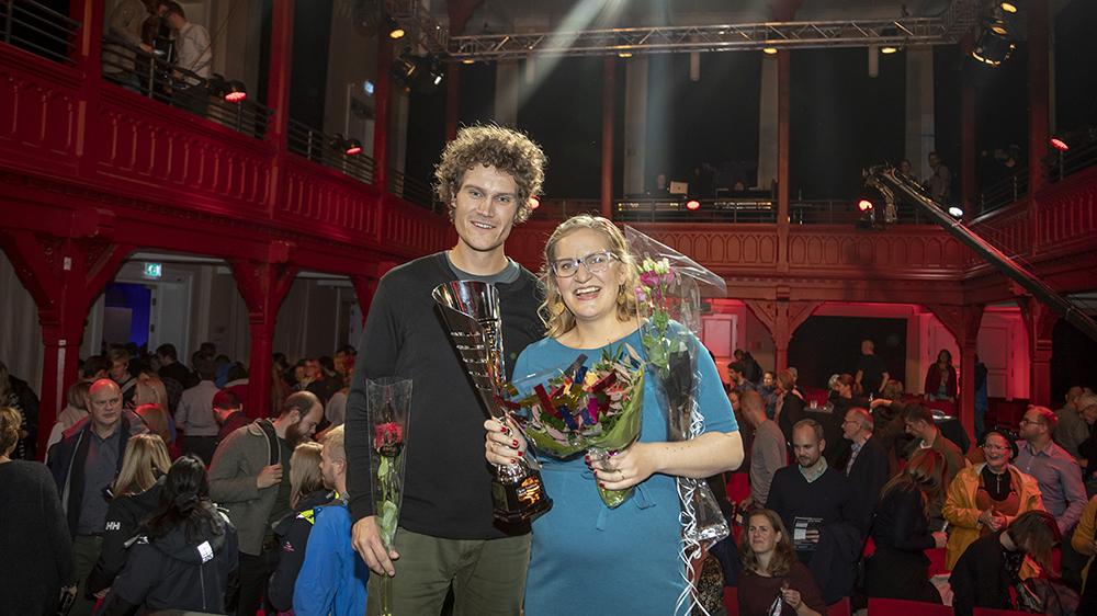 Anders Lorentzen Kolstad and Tina Louise Ringstad