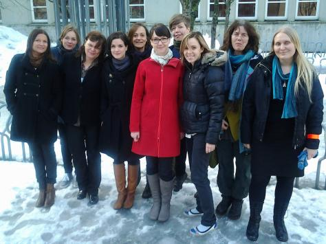 Scandinavian women in design research - Kick-off meeting in Trondheim 22-24 February 2012