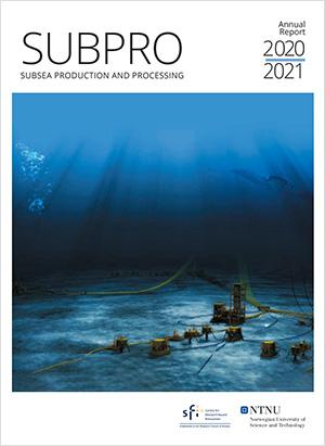 Cover of the SUBPRO annnual report 2020/2021.