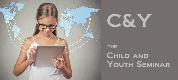 Girl looking at tablet, illustrations of a world map pops out of the screen. Photo/illustration