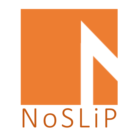 Logo - NoSliP conference. Graphics.