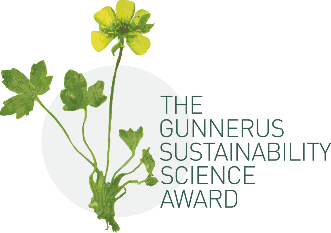 The Gunners Sustainability Award logo. Illustration.