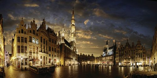 Grand Place, Brussels. Photo.
