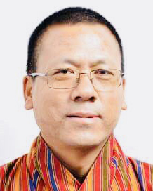 Hon. Tempa Dorji. Photo