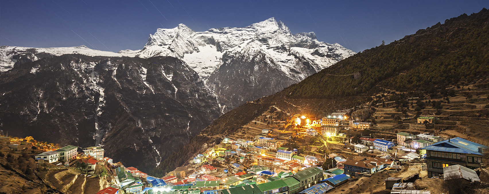 Namche Bazaar, Nepal. Photo: Colourbox