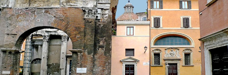 Old Italian buildings