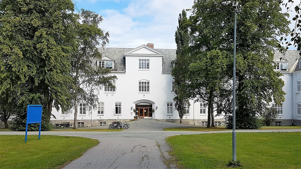 Research group on Security, Prison and Forensic Psychiatry is located in the old main building Brøset. Photo