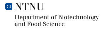NTNU - Department of Biotechnology and Food Science
