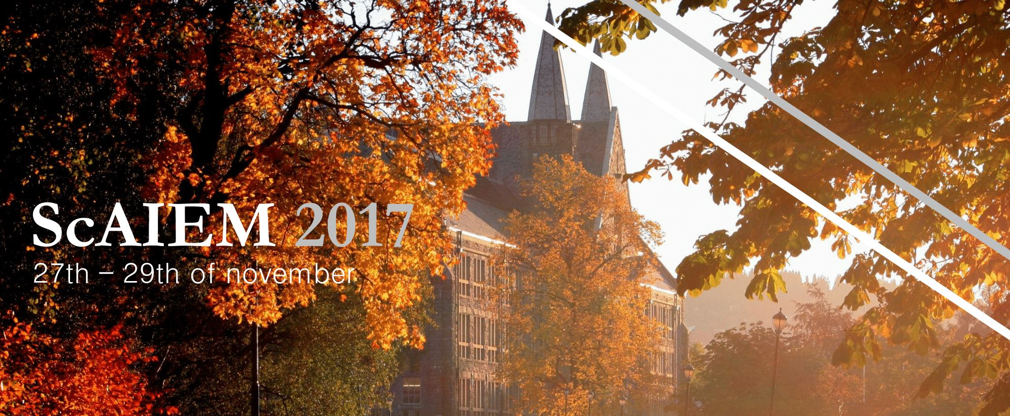 ScAIEM 2017 - NTNU in fall