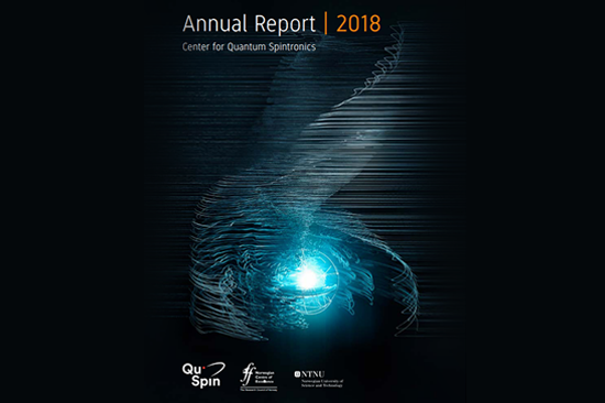 QuSpin Annual Report 2018 front page