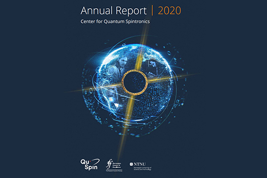 QuSpin Annual Report 2020 front page
