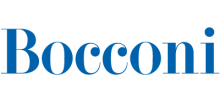 Bocconi logo.