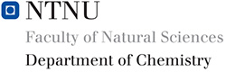 Logo Department of Chemistry, NTNU