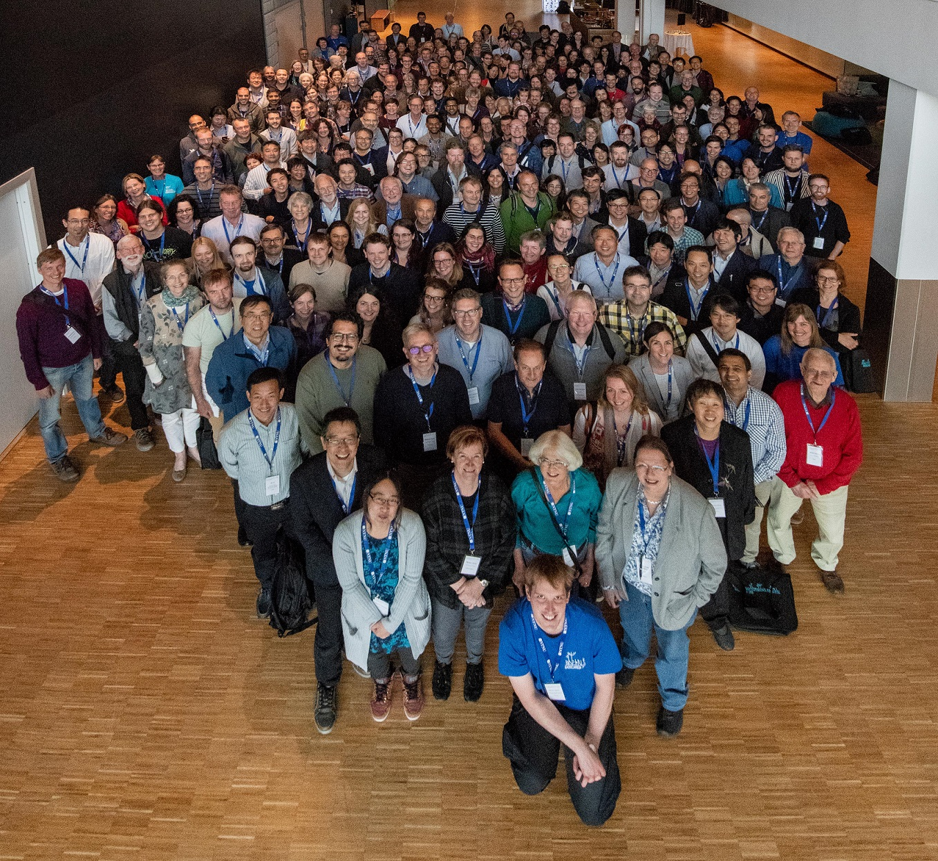 conference attendees group photo