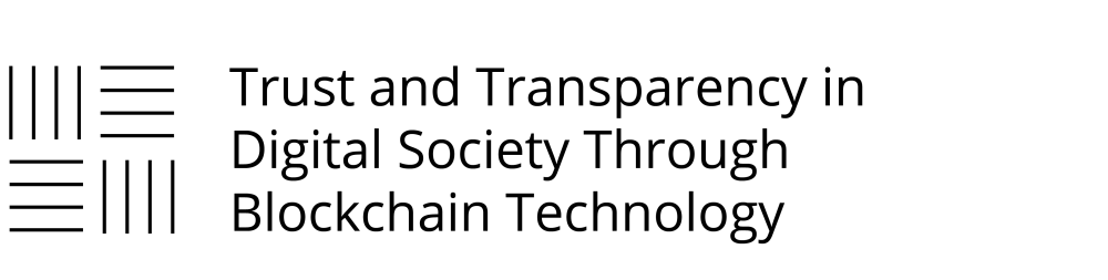 Trust and Transparency in Digital Society Through Blockchain Technology
