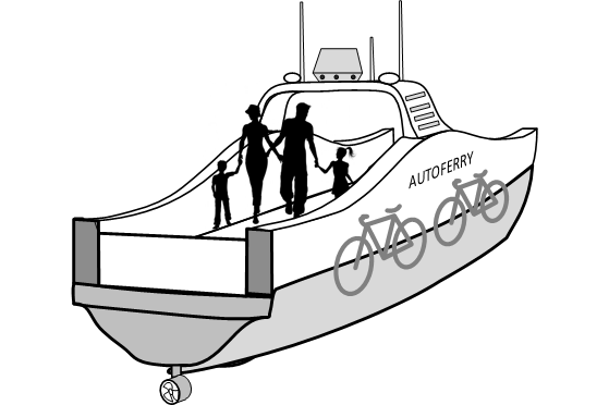 Illustration - Autoferry