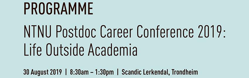 Conference Outside Academia Programme. Photo