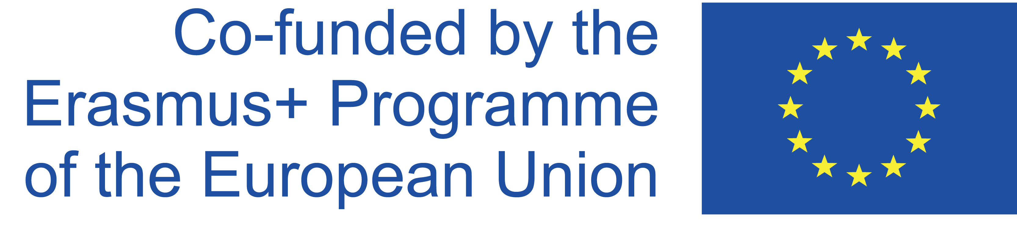 Erasmus+ logo - sponsored by Erasmus plus