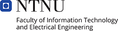 NTNU Faculty of Information Technology and Electrical Engineering logo