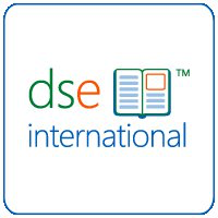 Logo DSE International, leads to DSE's web page