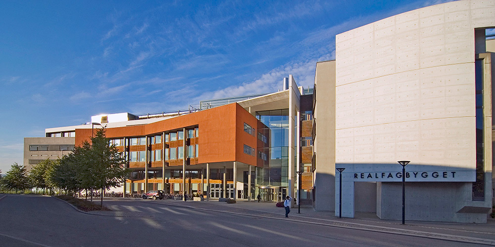 The Natural Science building at NTNU Trondheim, Norway