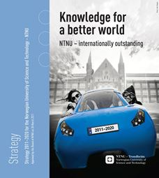 NTNU Strategy 2011-2020 Knowledge for a better world frontpage picture