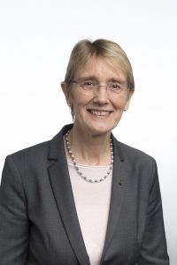 Pro-rector Anne Borg. Photo.