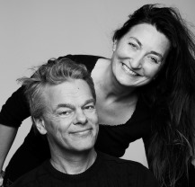 My-Britt and Edvard Moser. Photo.