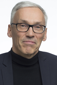 Pro-rector Bjarne Foss. Photo.
