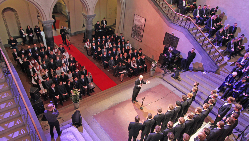 Doctoral Awards Ceremony at NTNU