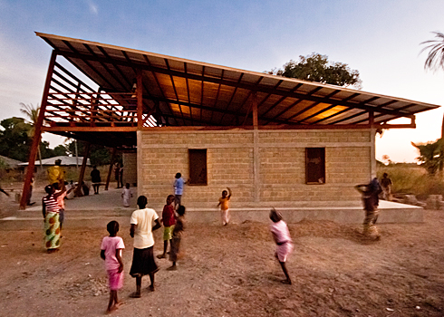 Youth Center in Senegal