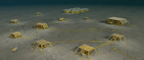 photo: subsea oil