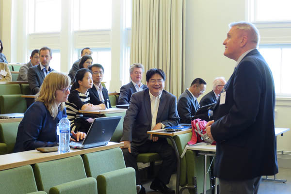 Visit from China - Lecture Arne Bredesen