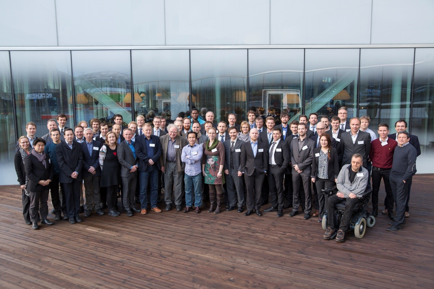 The SIMLab group including research partners and consortium partners.