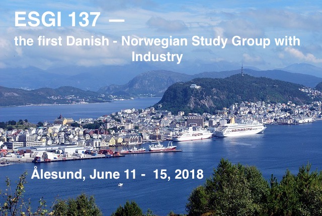 ESGI 137 – the first Danish-Norwegian Study Group with Industry