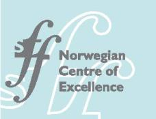 Norwegian Centre of Excellence logo