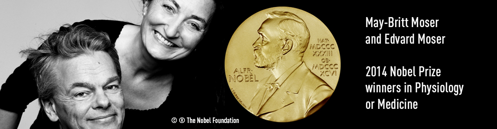 2014 Nobel Prize Winners May-Britt and Edward Moser