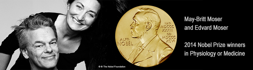 Go to website for the 2014 Nobel Prize Winners May-Britt and Edward Moser