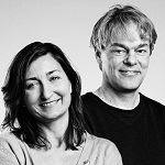 May-Britt and Edvard Moser
