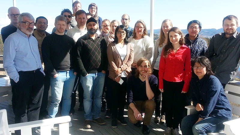 Group members of the Electrochemistry Group at NTNU