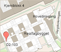Map to the Department of Chemistry