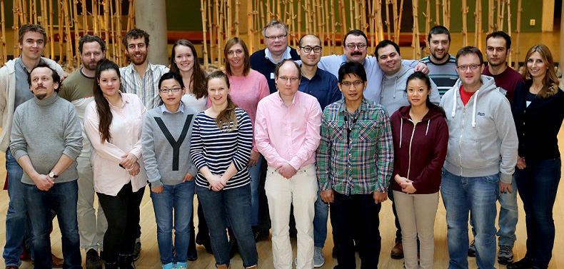 Ugelstad laboratory group members 2015.