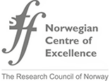 Norwegian Centre of Excellence (SFF) logo