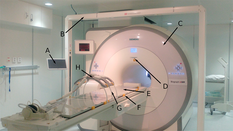 PET/MR scanner at St. Olavs hospital. Photo