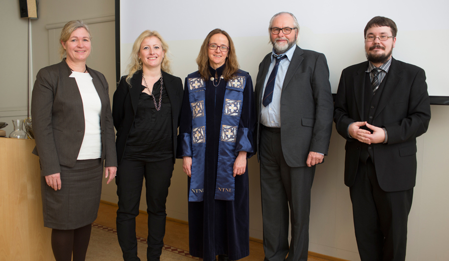 Startpage   NTNU NTNU Thale Kvernberg Andersen successful defence of PhD thesis   quot