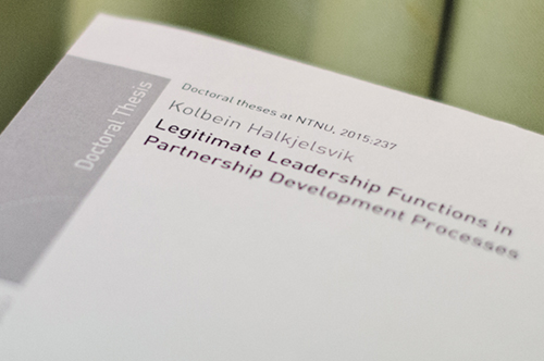 Phd thesis on leadership development