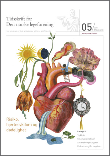 Journal of the Norwegian Medical Association cover March 2011